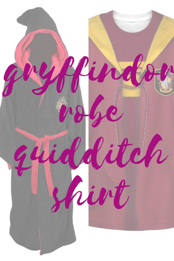 Plus Size Gryffindor Robe Quidditch Shirt
