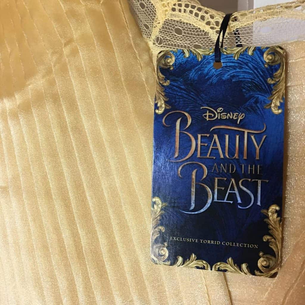 Belle Ball Gown Tag