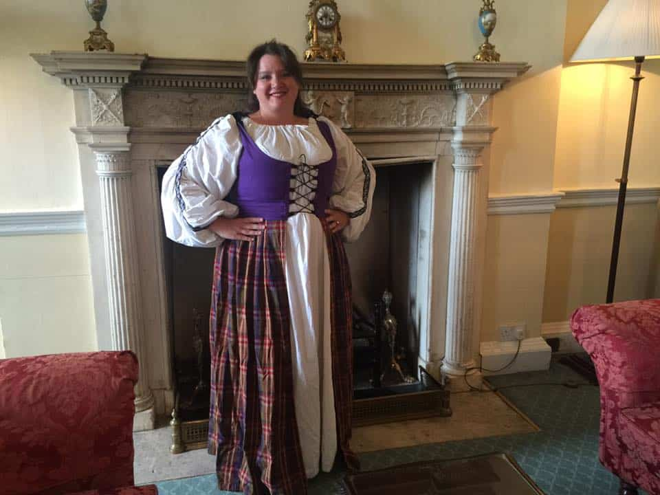 Plus Size Wench Dress at Culloden