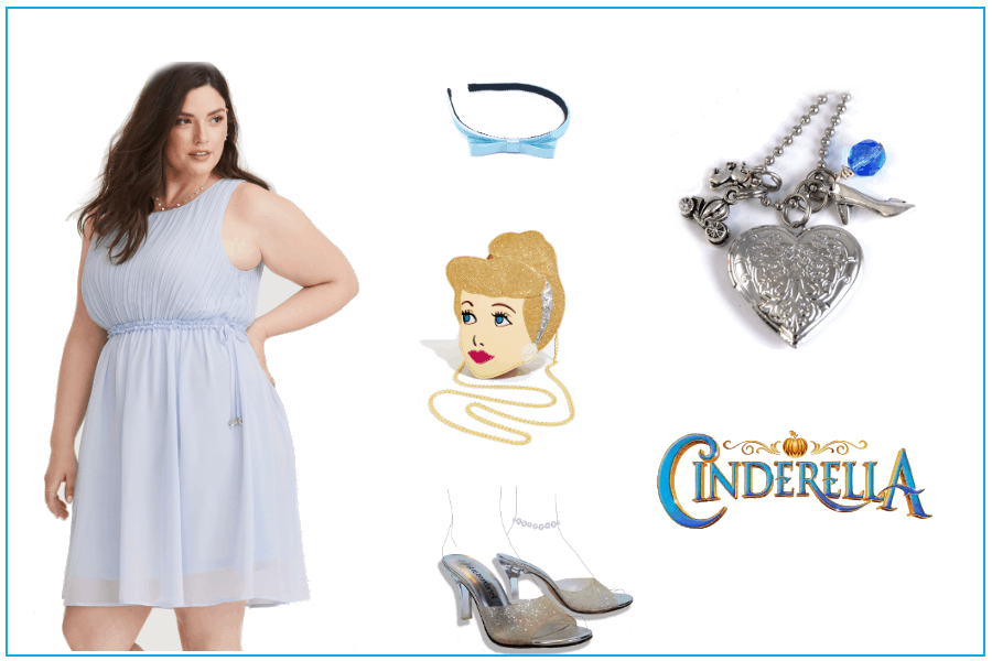 Spring Cinderella Dress Up Picture Board