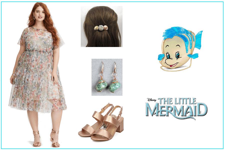 Spring Ariel Plus Size Disney Women