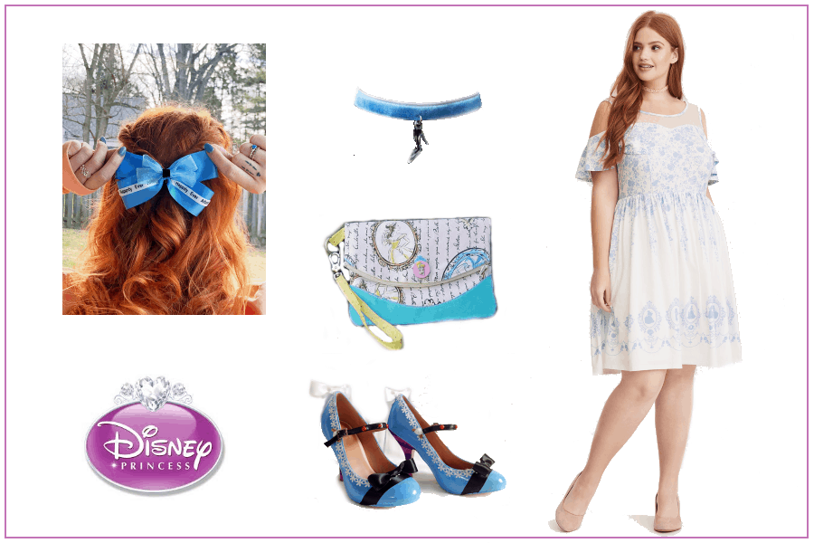 Spring Disney Princess Plus Size Womens Outfit