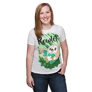 ThinkGeek Rowlet Tshirt