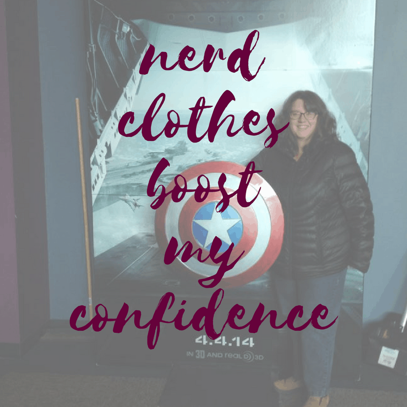 Nerd Clothes Boost My Confidence