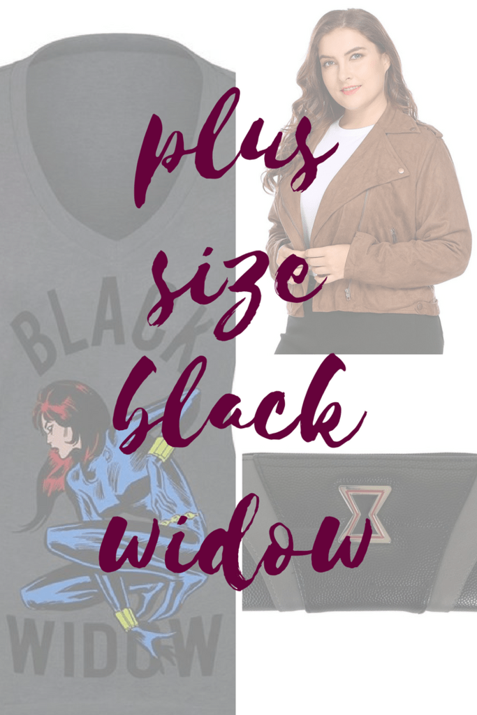 Plus Size Black Widow Clothes Collage