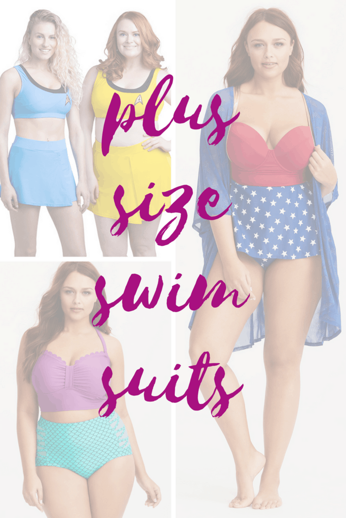 Plus Size Swimsuits for Nerds