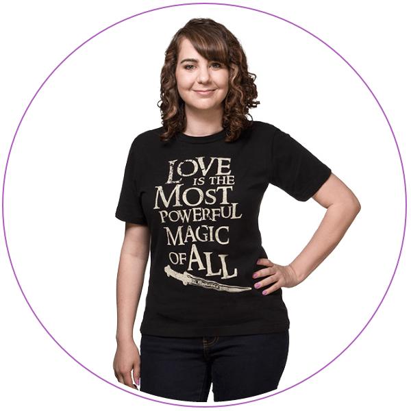Plus Size Disney Magic Quote on a T-shirt