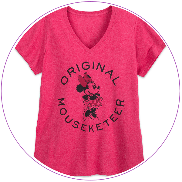 Plus Size Disney Pink Minnie Mouse T-shirt