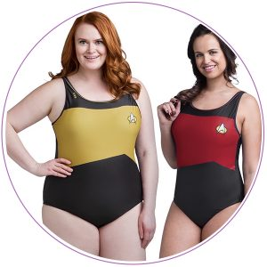 Plus Size Star Trek TNG Swimsuit
