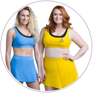 Plus Size Star Trek Swimsuit Two-Piece