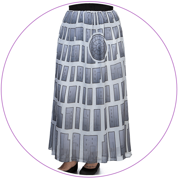 Plus Size Star Wars Skirt Death Star