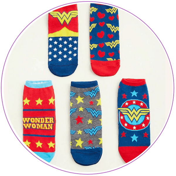 Wonder Woman Socks Torrid