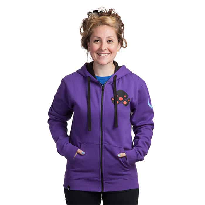 Plus Size Overwatch Purple Hoodie