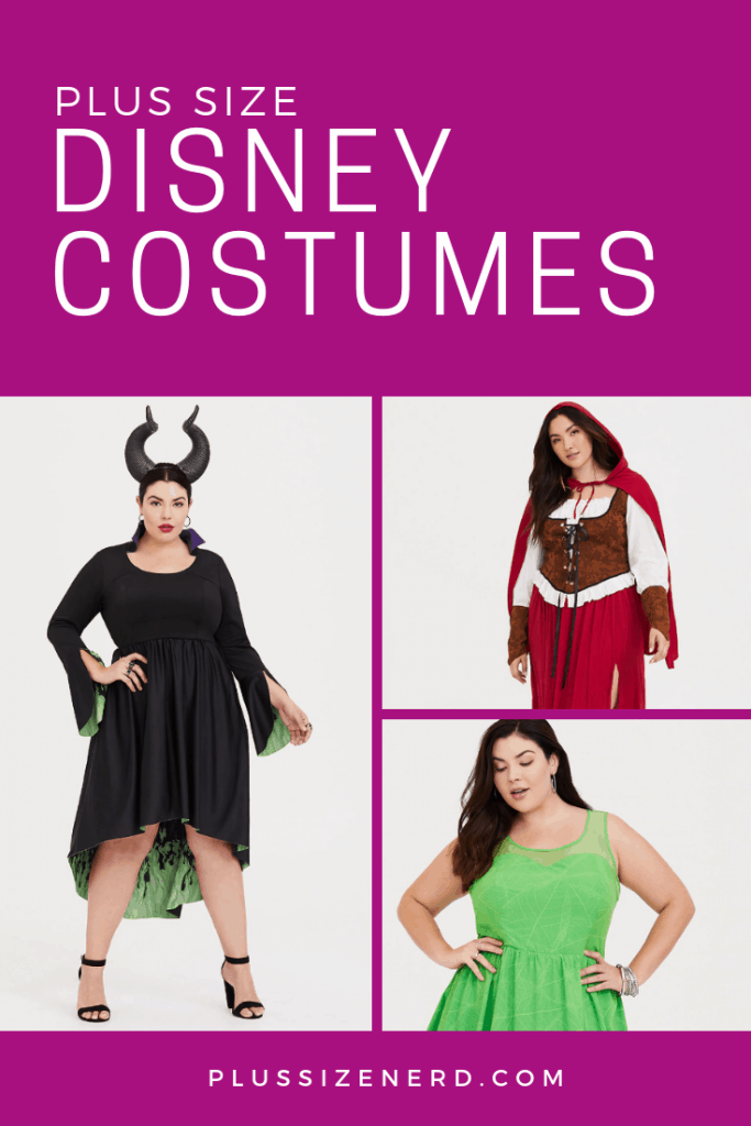 Plus Size Disney Costumes for Halloween – Ursula, Maleficent