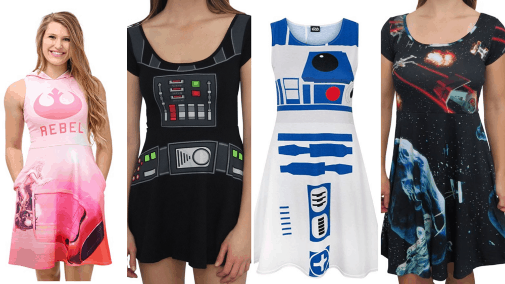 These Plus Size Star Wars Dresses Are Far Out - Plus Size Nerd