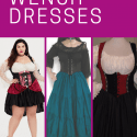 Plus Size Wench Dress for Ren Faire and Cosplay