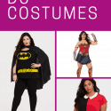 Plus Size Wonder Woman Costume and Other Superheroes