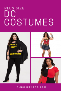 Collage of women wearing superhero costumes