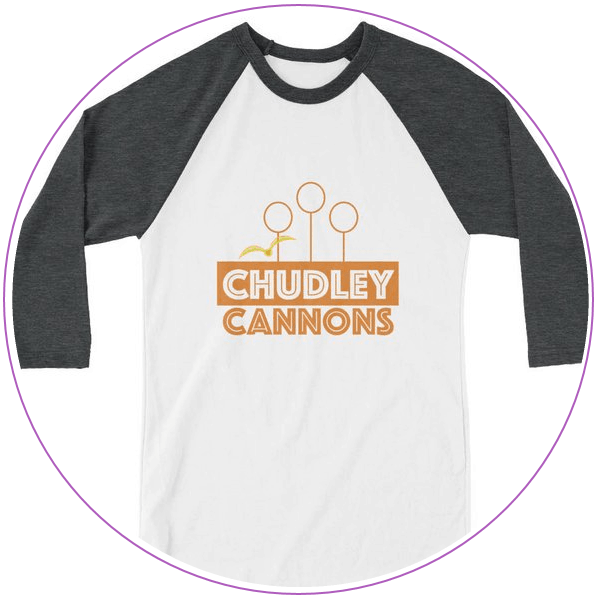 T-shirt with Chudley Cannons Quidditch logo