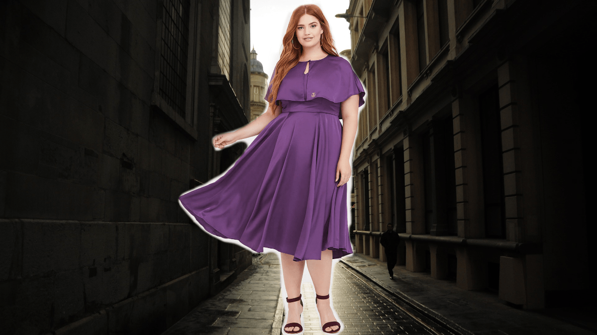 This Queenie Goldstein Plus Size Style is Magical