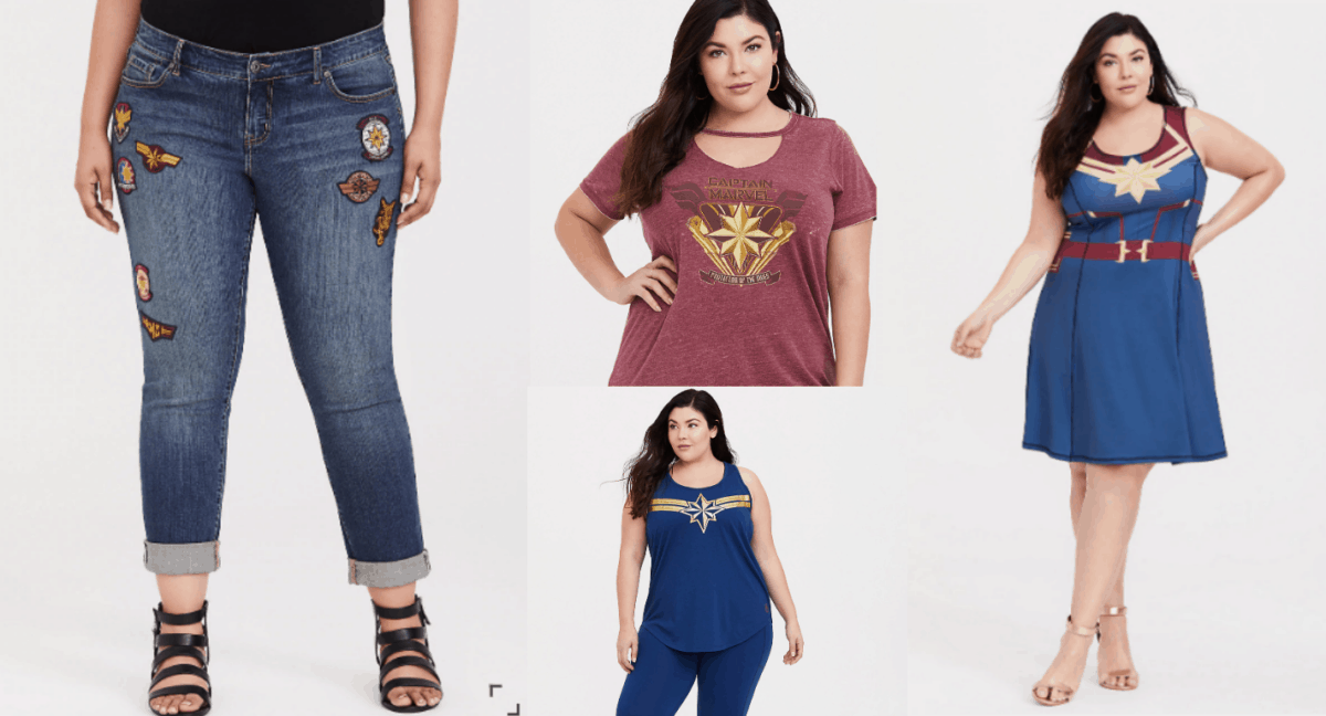 Plus Size Captain Marvel Clothes That Ain't Skrull-in' Around