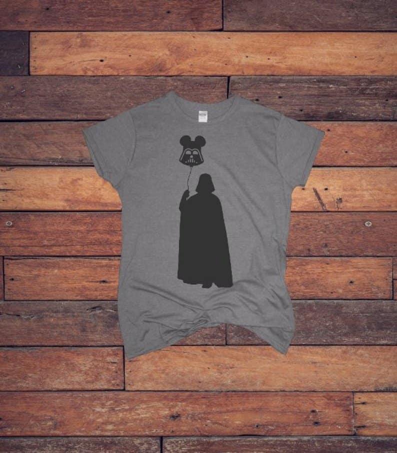 Etsy Darth Vader t-shirt