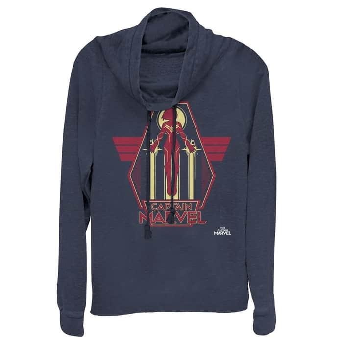 Plus Size Captain Marvel Sweatshirtq