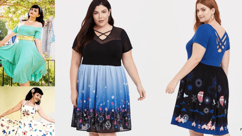 Find a Magical Plus Size Disney Dress