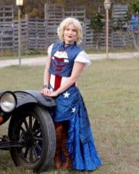 Captain America Steampunk Dress