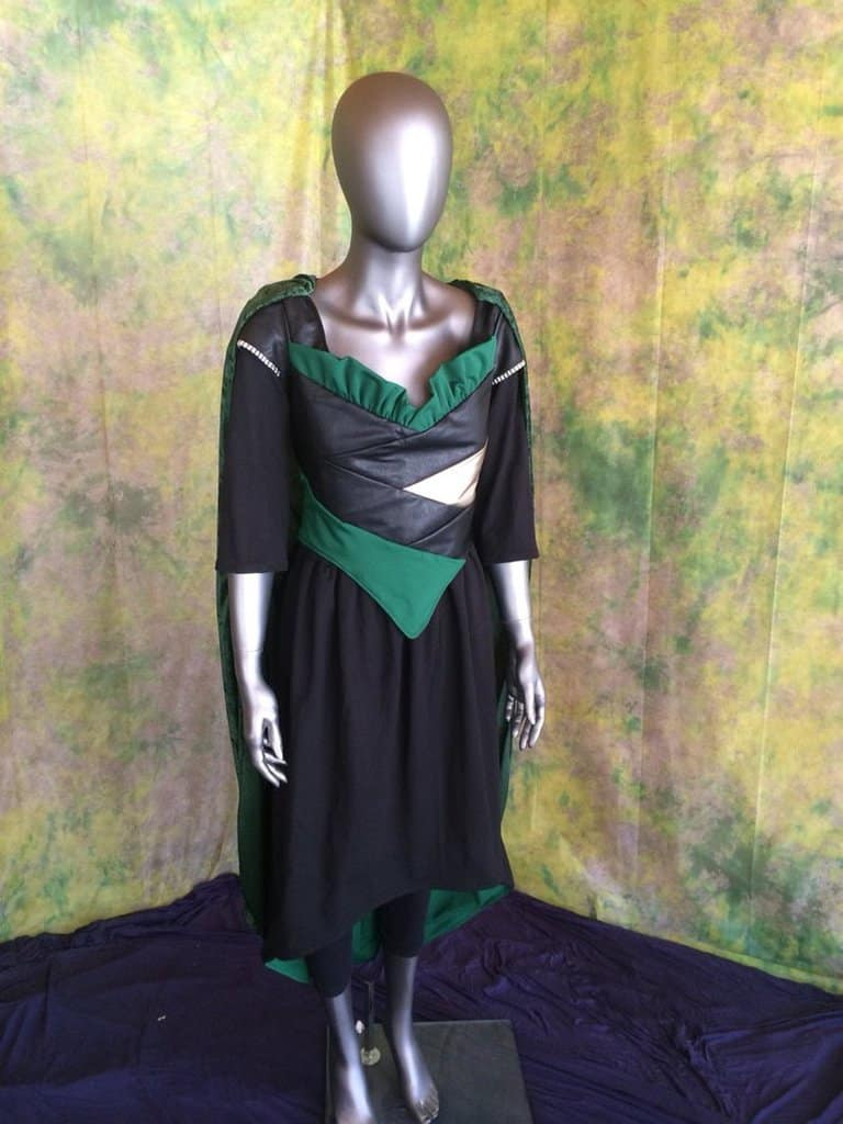 Loki Dress Cape