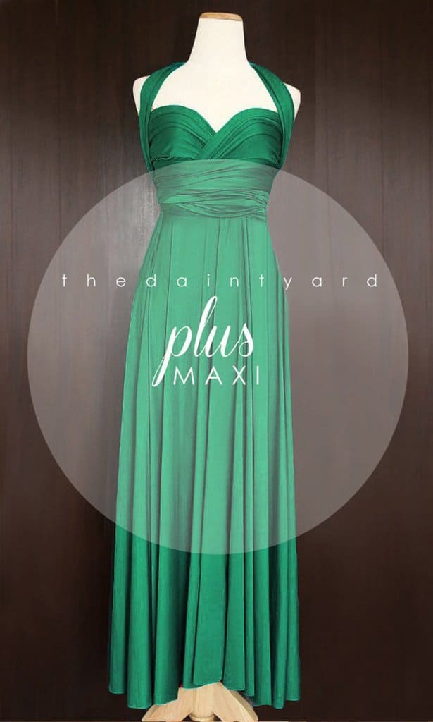 Plus Size Poison Ivy Gown