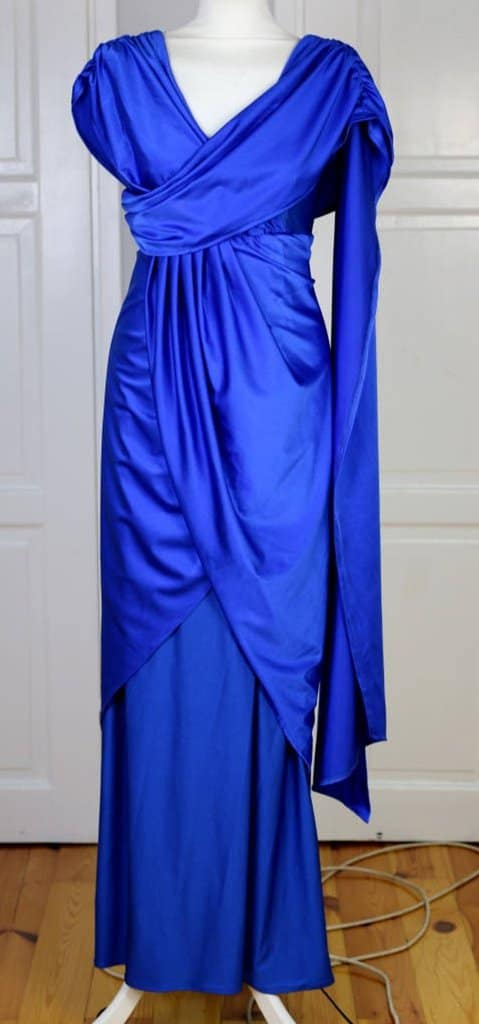 Wonder Woman Blue Gown