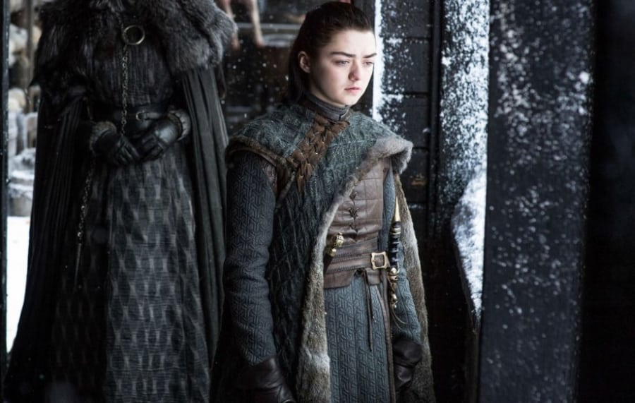 Arya Stark Cloak