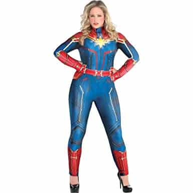 Plus Size Captain Marvel Costume