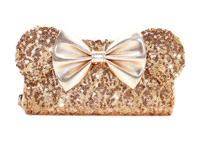 Loungefly Minnie Mouse Sequined Wallet